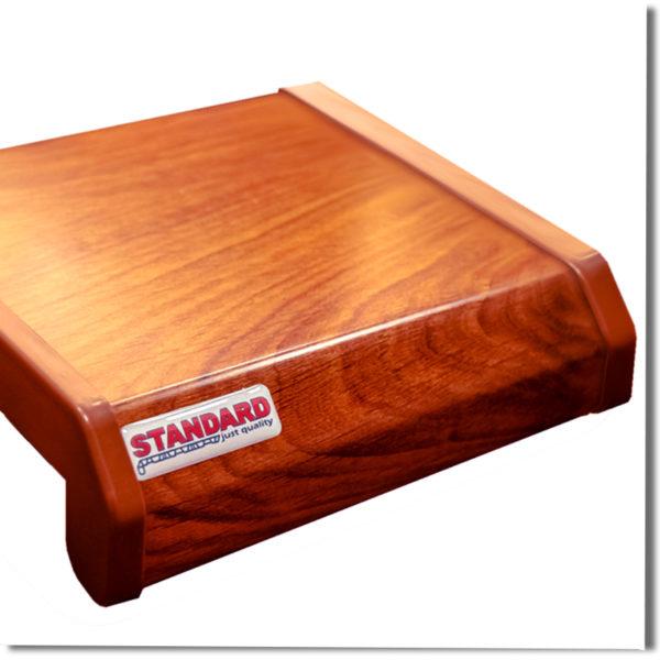 Подоконник Данке стандарт коричневый